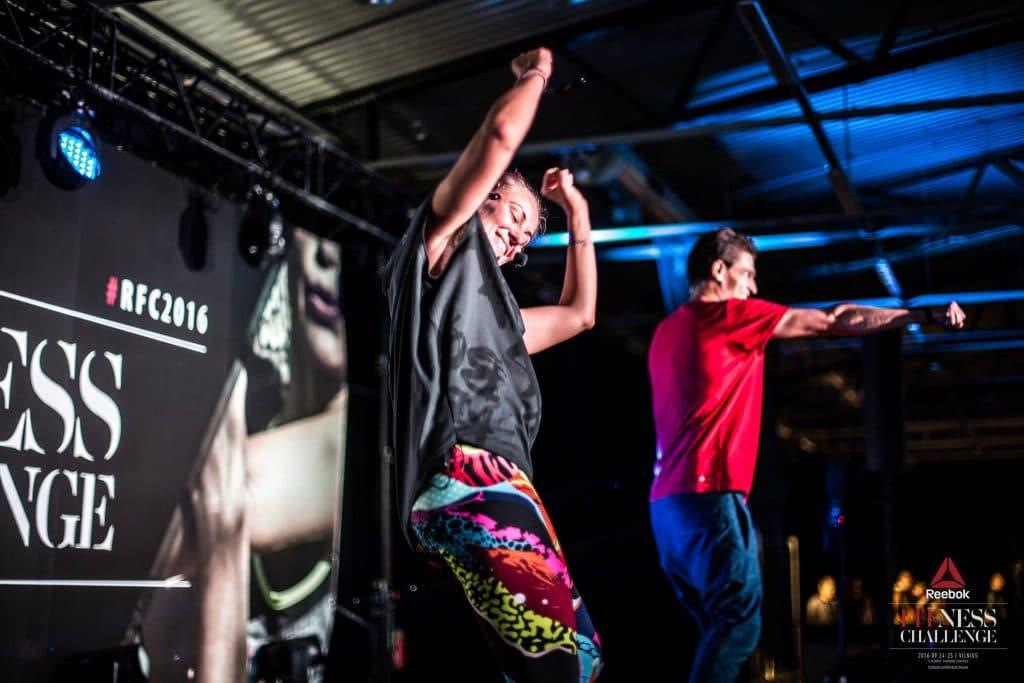 Reebok, RFC2016, Vilnius, Linija, Step Dance