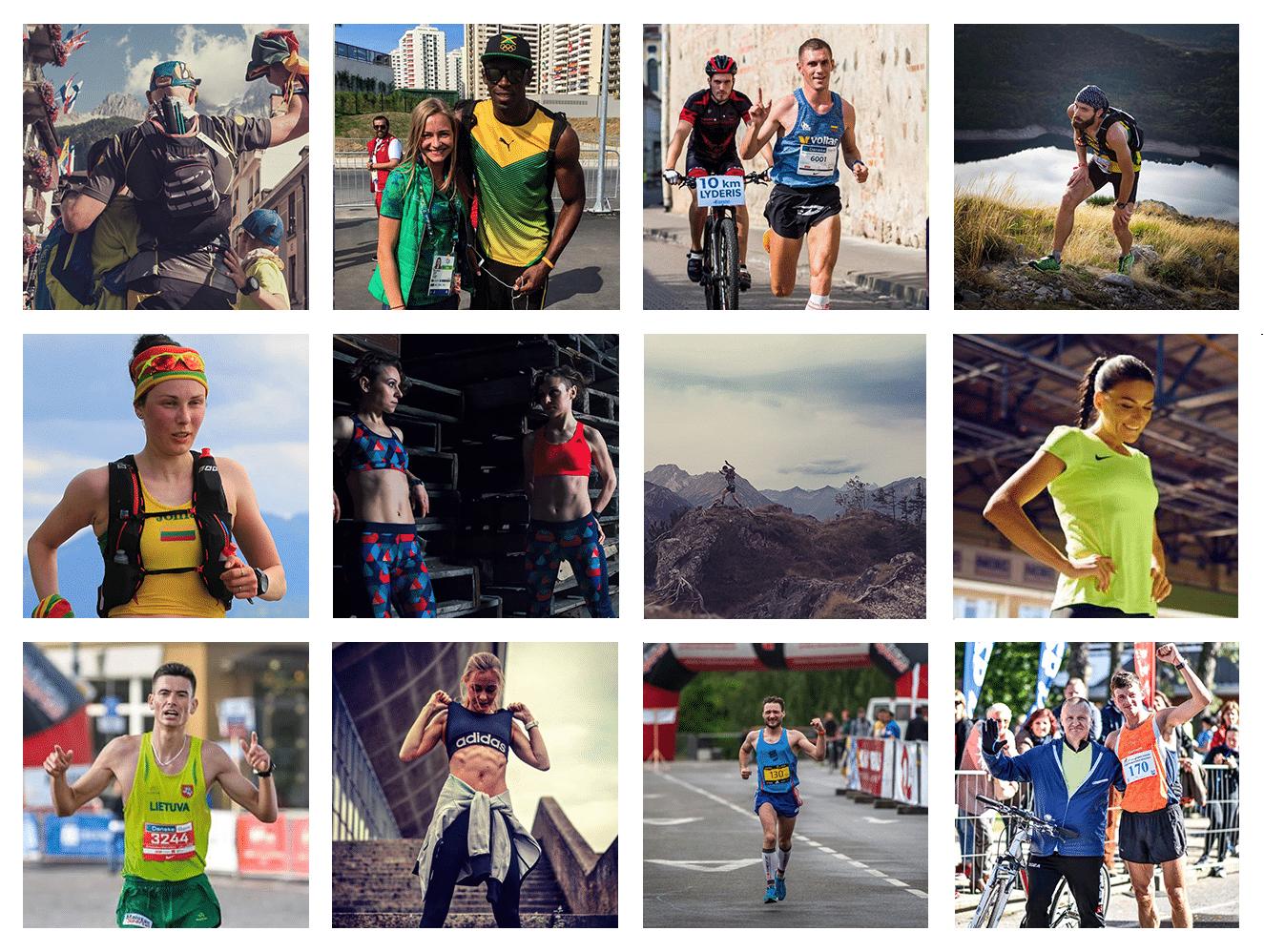Profesionalūs bėgikai, kurie pasakoja istorijas. Kas jie?