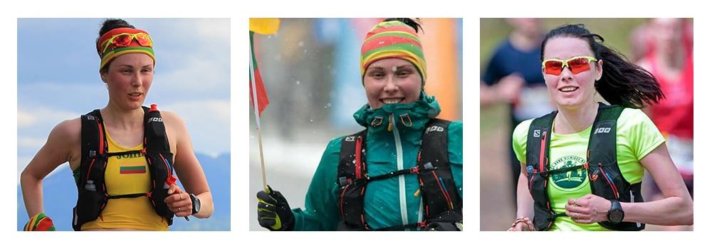 Viktorija Tomaševičienė, profesionalūs bėgikai