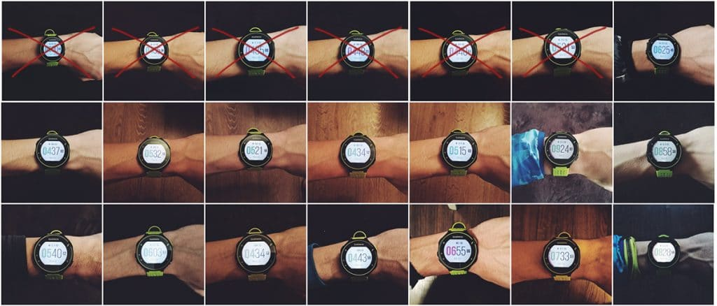 laikrodis, kėlimasis, garmin