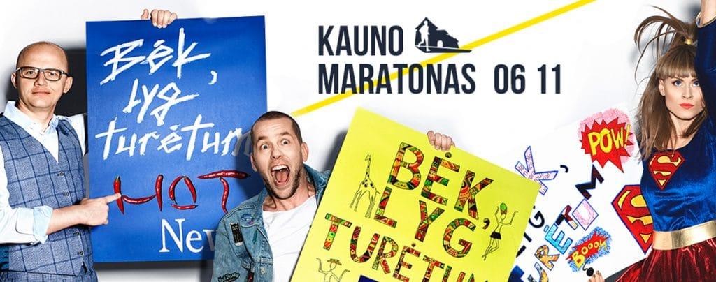 bėgimo varžybų kalendorius, kauno maratonas